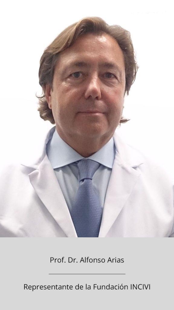 Prof. Dr. Alfonso Arias - Representante fundación INCIVI