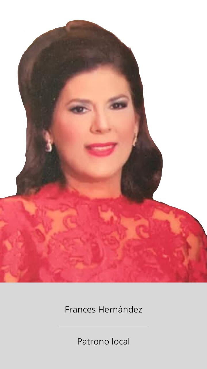 Frances Hernández - Patrono local